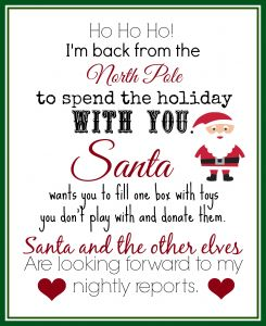 Goodbye Letter From Elf On the Shelf Template - Elf On the Shelf Ideas for Arrival 10 Free Printables