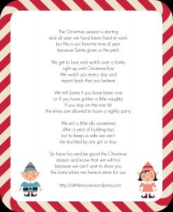 Goodbye Letter From Elf On the Shelf Template - Image Elf the Shelf Wel E Letter Template Download Elf