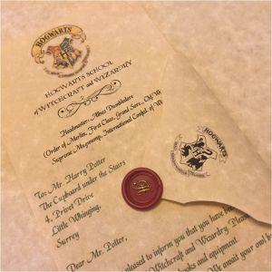 Harry Potter Letter From Hogwarts Template - Hogwarts Acceptance Letter Envelope Template Printable Valid