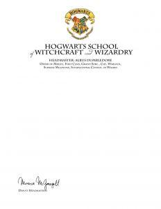 Harry Potter Letter From Hogwarts Template - Printable Hogwarts Acceptance Letter Template Free Creative Besten