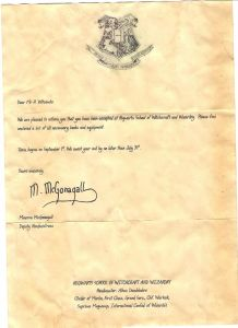Harry Potter Letter From Hogwarts Template - Hogwarts Acceptance Letter Template Examples