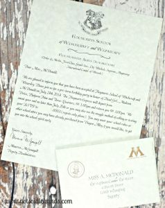 Harry Potter Letter Template - Harry Potter Invitation Letter Template Best Hogwarts Letter