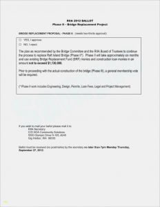 Hoa Approval Letter Template - Proxy Letter format Download Best Hoa Proxy form Template Proxy