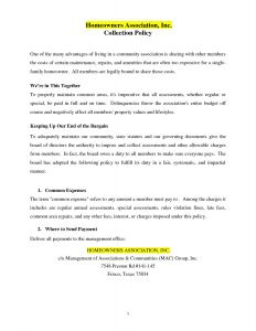 Hoa Dues Letter Template - Awesome Hoa Violation Letter Template