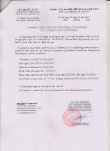 Hoa Letter Template - Download Visa Application form Vietnam Visa Approval Lettervisa