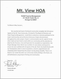Hoa Violation Letter Template Sample - Sample Hoa Violation Letters Inspirational Resume Step by Step