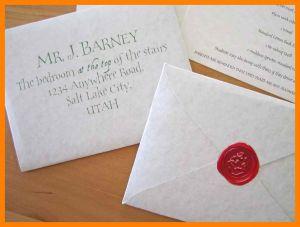 Hogwarts Acceptance Letter Envelope Template - 7 Harry Potter Acceptance Envelope