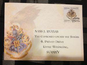 Hogwarts Acceptance Letter Envelope Template Printable - Hogwarts Acceptance Letter Envelope Template Printable Harry Potter