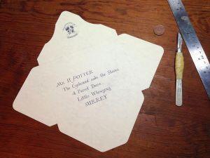 Hogwarts Acceptance Letter Envelope Template Printable - Hogwarts Acceptance Letter Envelope Temp Lecworks