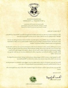 Hogwarts Acceptance Letter Template - Luxury Printable Hogwarts Letter