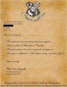Hogwarts Acceptance Letter Template Printable - Printable Hogwarts Acceptance Letter Template Fresh Besten Der