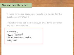 Home Buyers Offer Letter Template - 3 Ways to Write A Letter Of Interest for A House Wikihow