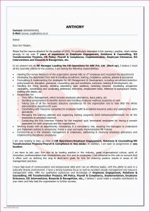 Hr Letter Template - Sample Application Letter Application Hr Cover Letter Template
