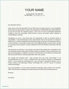 Hr Letter Template - 20 New Executive Cover Letter Free Download
