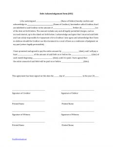 I Owe You Letter Template - I Owe You Letter Template Editable How to Write An Iou Template