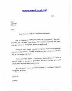 Immigration Letter Of Support for A Friend Template - Immigration Hardship Letter for A Friend Sample