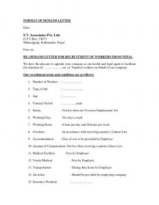 Insurance Demand Letter Template - Sample Demand Letter for Unpaid Rent New Letter Od Demand – Letter
