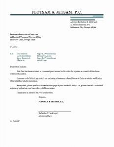 Insurance Demand Letter Template - Demand Letter to Insurance Pany Inspirational Letter Od Demand