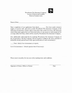Insurance Renewal Letter Template - Letter format for Cancellation Sales Tax Registration New