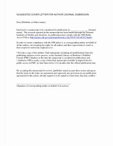 Internship Offer Letter Template - Internship Cover Letter Template Collection