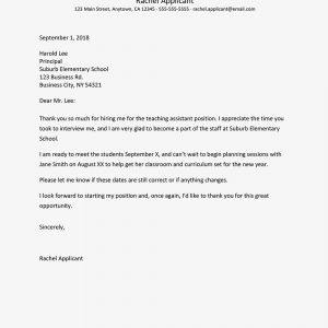 Job Acceptance Letter Template - Job Fer Thank You Letter and Email Samples