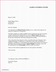 Job Application Cover Letter Template Word - Example Aplication Letter Fresh Cover Letter Fill In Awesome Job