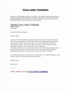 Job Application Letter Template - Job Apply Cover Letter Sample Resume Letters Job Application Elegant