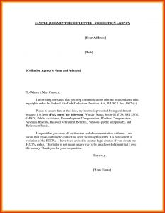 Judgement Proof Letter Template - Judgement Proof Letter Template Examples