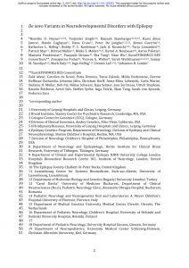 Kovel Letter Template - Pdf the Nih Genetic Testing Registry A New Centralized Database