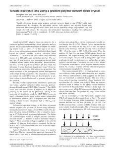 Kovel Letter Template - Pdf Tunable Electronic Lens Using A Gra Nt Polymer Network Liquid