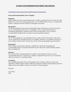 Law School Recommendation Letter Template - Re Mendation Letter format Law School Best Re Mendation Letter