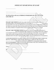 Lease Renewal Letter Template - Inspirational Renewal Tenancy Agreement Letter Sample – Jual Beli