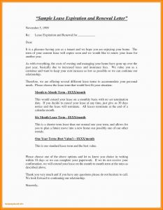 Lease Renewal Letter Template - Letter Writing format for Renewal Contract Job Fer Agreement