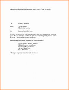 Lease Renewal Letter Template - Lease Renewal Reminder Letter Template Samples