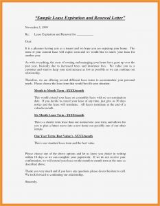 Lease Renewal Letter to Tenant Template - Tenancy Agreement Template Archives