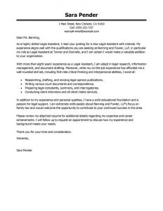 Legal Opinion Letter Template - Sample Legal Secretary Cover Letter with Salary Requirements Legal