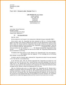Legal Response Letter Template - Demand Letter From attorney