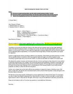 Leprechaun Letter Template - Rejection Request Letter How to Write A Rejection Request Letter