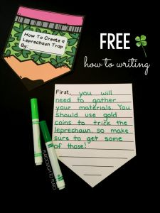Leprechaun Letter Template - How to Create A Leprechaun Trap Writing Activity