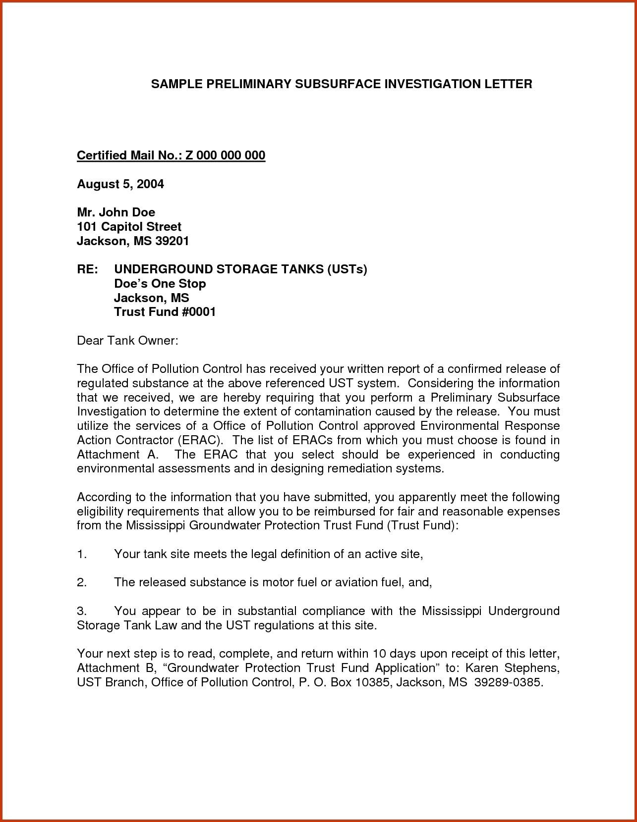 letter of agreement samples