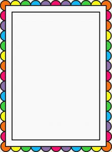 Letter Border Template - Free Printable Stationary Borders