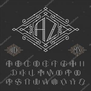 Letter C Monogram Template - Zwei Buchstaben Monogramm Vorlage — Stockvektor © Epifantsev