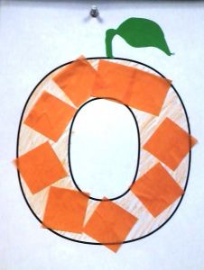 Letter E Elephant Craft Template - O is for orange Crafts Alphabet Pinterest