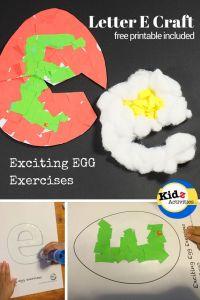 Letter E Elephant Craft Template - Jim Cattell Paula940 On Pinterest