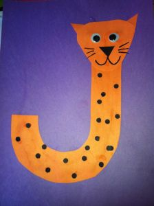Letter E Elephant Craft Template - Miss Maren S Monkeys Preschool Jaguar Template Letters
