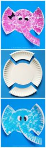 Letter E Elephant Craft Template - Paper Plate Elephant Craft for Kids to Make Adorable