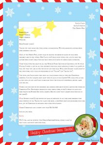 Letter From Easter Bunny Template - Letter From Santa Template Word Sukran Poomar