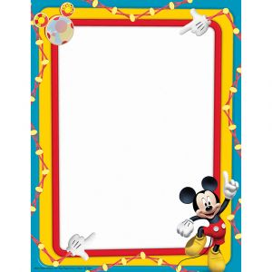 Letter From Mickey Mouse Template - Free Mickey Mouse Border Download Free Clip Art Free Clip Art On