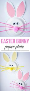 Letter From the Easter Bunny Template - This Paper Plate Easter Bunny is so Cute I Love How Easy This is to