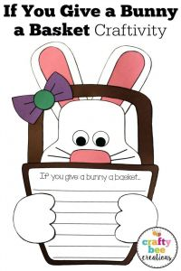 Letter From the Easter Bunny Template - Easter Bunny Craft if You Give A Bunny A Basket Writing Prompts